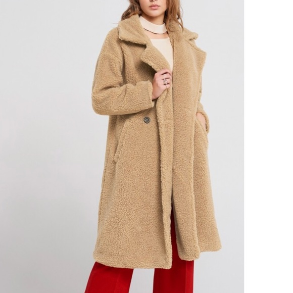 Oversized Teddy Coat Storets